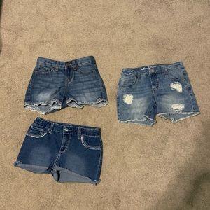 Girl's Shorts Lot Size 10